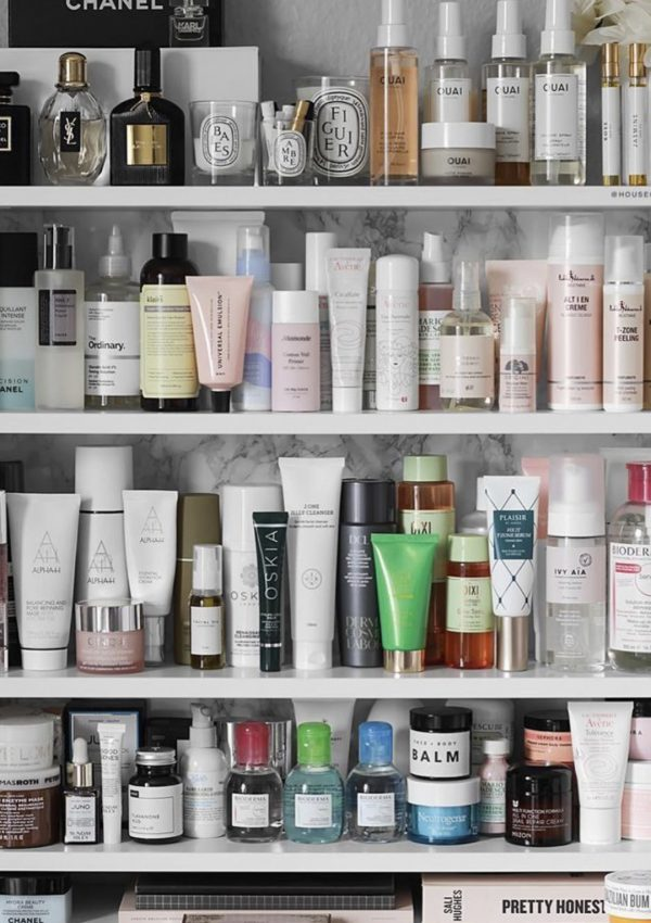 Bathroom Top Shelf: My Favorite Skincare Products